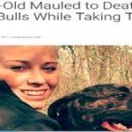 【アメリカ】愛犬のピットブルがお散歩中に22歳の飼い主を食い殺す!