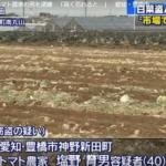 塩野育男の顔画像とSNSは?白菜160玉を窃盗、トマト農家の男逮捕